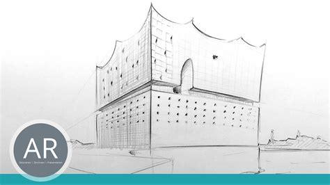 architekturskizzen unterwegs anfertigen  einfach und