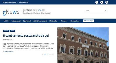Ufficio Concorsi Ministero Giustizia by Gnews Quotidiano Ministero Della Giustizia