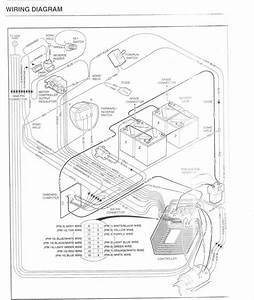 8 Best Images Of 95 Club Car 48v Wiring-diagram