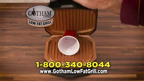 gotham steel  fat grill tv commercial  indoor grill ispottv