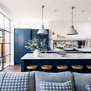 Navy, Kitchen, Ideas, U2013, To, Add, An, Element, Of, Rich, Colour, And, Sophistication