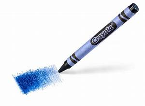Crayola New Blue Color Crayon: Take First Look, Help Name ...