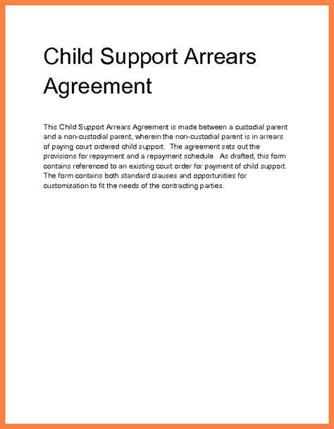 child support arrears settlement marital settlements