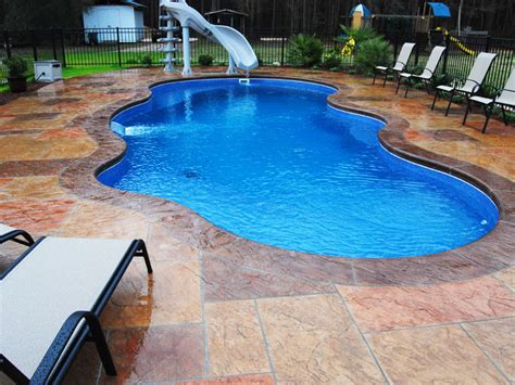 fiberglass pool designs freeform rising sun pools and spas