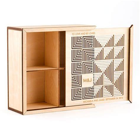 haircut keepsake box cubist laser cut wood keepsake box the knot shop