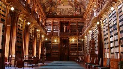 Library Prague Architecture Libraries Books Visit