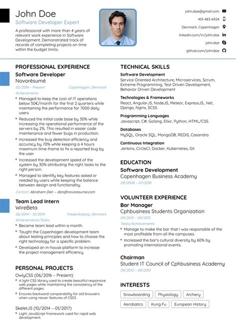 How To List Software Skills On Resume by Resume Web