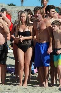 vinnie paul swimsuit rhobh s eileen davidson braves the winter ocean with vince