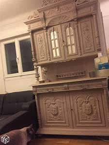 Miroir Ancien Le Bon Coin : meuble vaisselier avec miroir biseaut henri ii le bon coin pinterest meuble vaisselier ~ Teatrodelosmanantiales.com Idées de Décoration