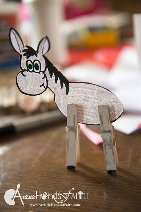 palm sunday donkey craft   printables easter palmsunday biblecrafts sunday school