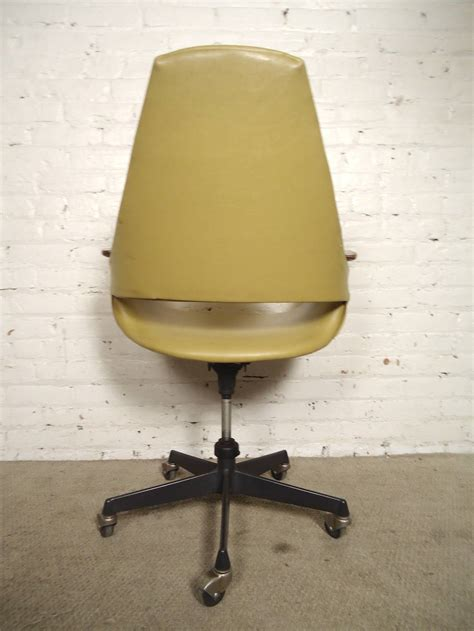 mid century modern rolling desk chair for sale at 1stdibs