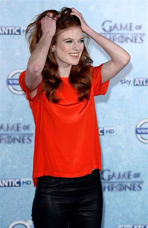 rose leslie game thrones fourth season premiere
