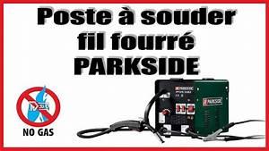 Fil A Souder : poste souder fil fourr parkside lidl youtube ~ Dode.kayakingforconservation.com Idées de Décoration