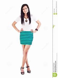 Frau Im Bild : frau die im kurzen rock aufwirft stockfoto bild von getrennt verfassung 24471242 ~ Eleganceandgraceweddings.com Haus und Dekorationen