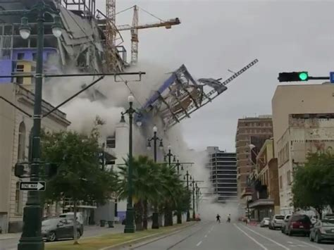 video  orleans hard rock hotel collapsed