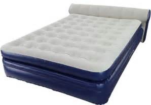 aerobed elevated queen with headboard air mattress aero bed new 18 inch ebay