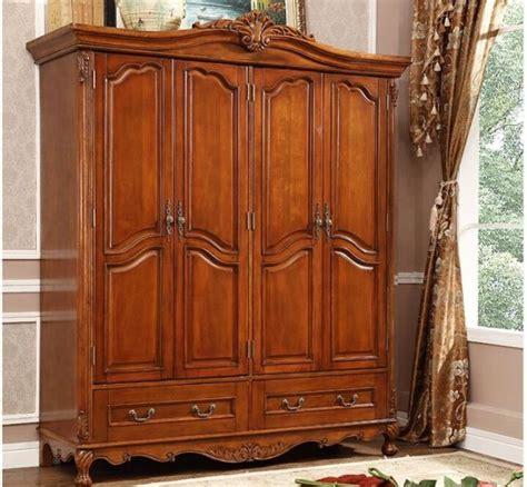 armoire custom cherry solid wood wardrobe closet design