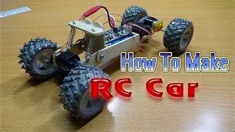rc car wd homemade rc car youtube