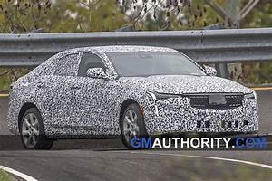 Cadillac CT4 Shows Production Headlights In New Spy Photos