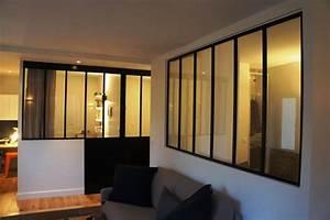 Verriere pour separer une chambre et un salon for Suspension chambre enfant avec porte fenetre en ligne
