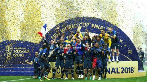 france   croatia trophy celebrations full highlight video world cup