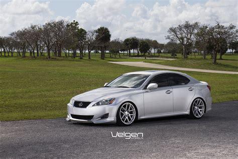lexus is250 velgen wheels vmb5 matte silver 19x9
