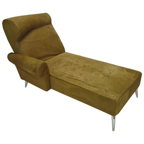 chaise longue philippe starck chaise longue in cowhide by philippe starck for driade