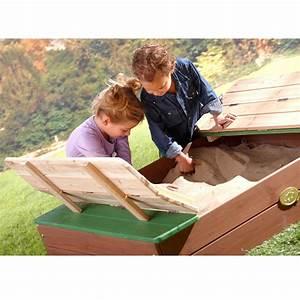 Bac à Sable Bois : bac sable bois avec bancs ella 39 x 12 x 100 cm gamm vert ~ Premium-room.com Idées de Décoration