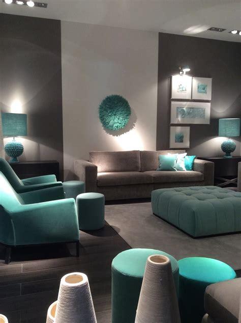 estancias  colores de tendencia como el turquesa sala