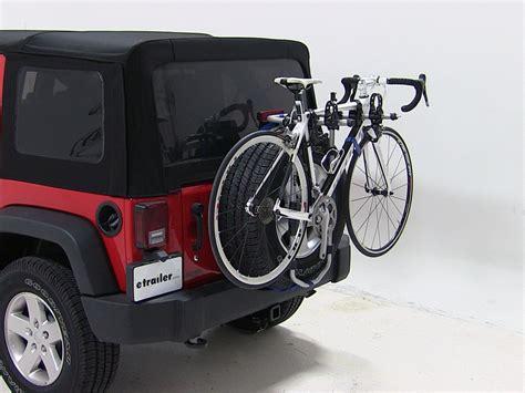tire bike rack thule spare me 2 bike rack spare tire mount folding