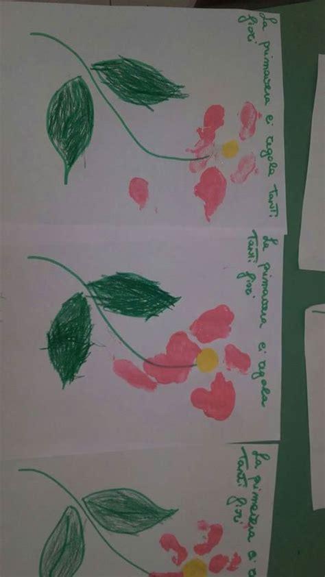 lavoretti  la primaveralavori dei bambini maestramaria