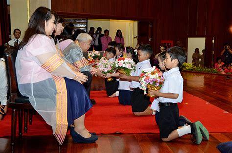 สาธิตจุฬาฯ ฝ่ายประถม จัดพิธีไหว้ครูประจำปี 2558 - โพสต์ทูเดย์ ประชาสัมพันธ์