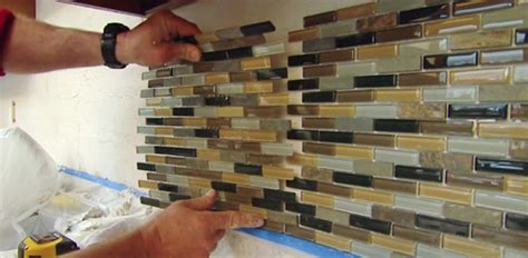 how to install ceramic tile backsplash in kitchen how to install a mosaic tile backsplash today 39 s homeowner