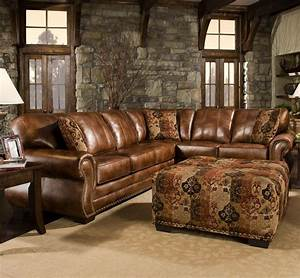 Sectional Sofa Design Rustic Leather Sectional Sofa