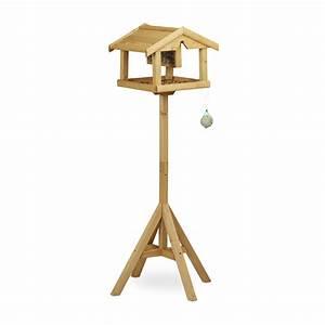 Vogelhaus Mit Ständer : relaxdays vogelhaus mit st nder vogelhaus real ~ Whattoseeinmadrid.com Haus und Dekorationen