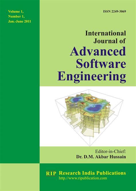 ijase international journal  advanced software