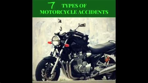 7 Types Of Motorcycle Accidents