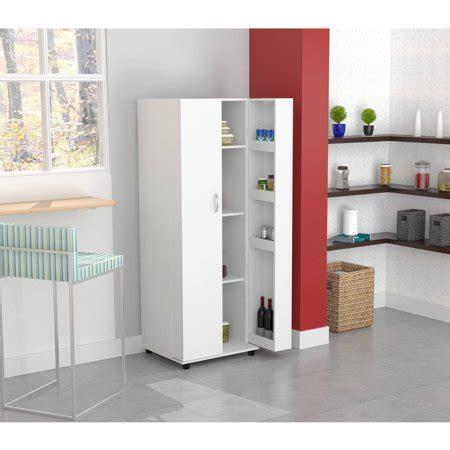 Walmart Kitchen Storage Cabinets by Inval Kitchen Storage Cabinet Pantry Larcinia White