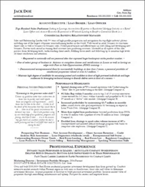 What Is Executive Profile On Resume by Executive Resume Professional Resume Sles