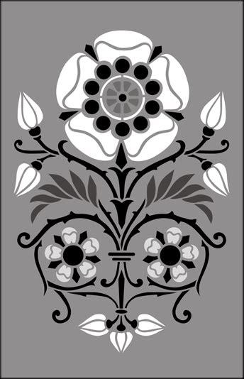 gothic  medieval stencils   stencil library buy