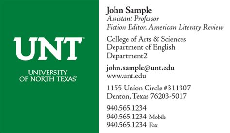 stationery unt identity guide