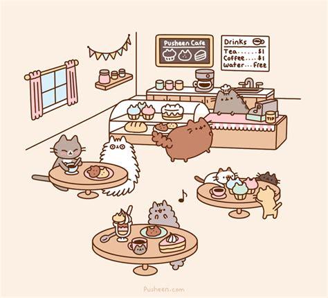 Pusheen Memes - pusheen cafe pusheen pusheen cat and cat