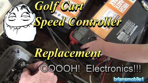 golf cart speed control alltrax dcx youtube