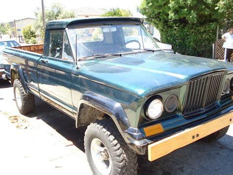jeep gladiator 1966 fullsizedjeepfan 1966 jeep gladiator specs photos