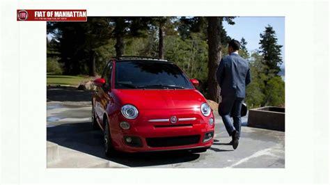 Fiat Manhattan by Fiat 500 Vs Ford Manhattan Ny 10019