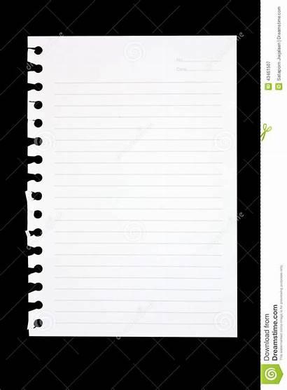 Notebook Torn Paper Sheet Spiral Background Path