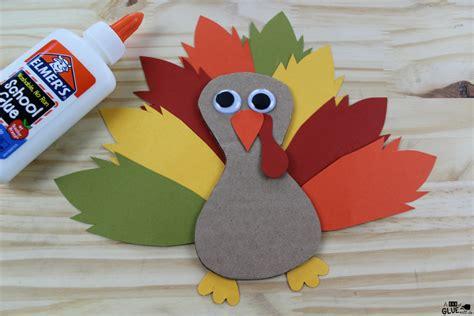 cardboard thankful turkey craft 211 | Cardboard Thankful Turkey Thanksgiving Craft 4