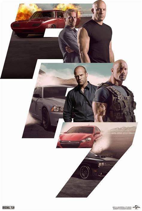 Fast & Furious 7 (2015) James Wan's Starstudded