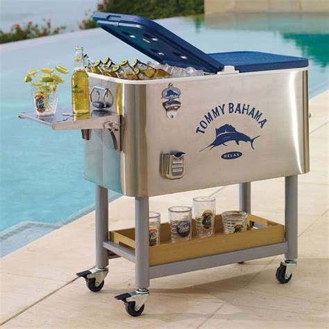 bahama swordfish cooler rolling cooler with tray
