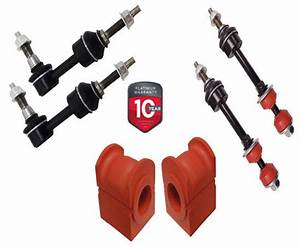 6pc Front  U0026 Rear Sway Bar Links   Bushings For Ford F